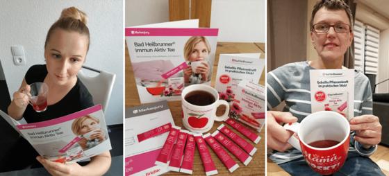 Unser erster Eindruck vom Bad Heilbrunner® Immun Aktiv Tee