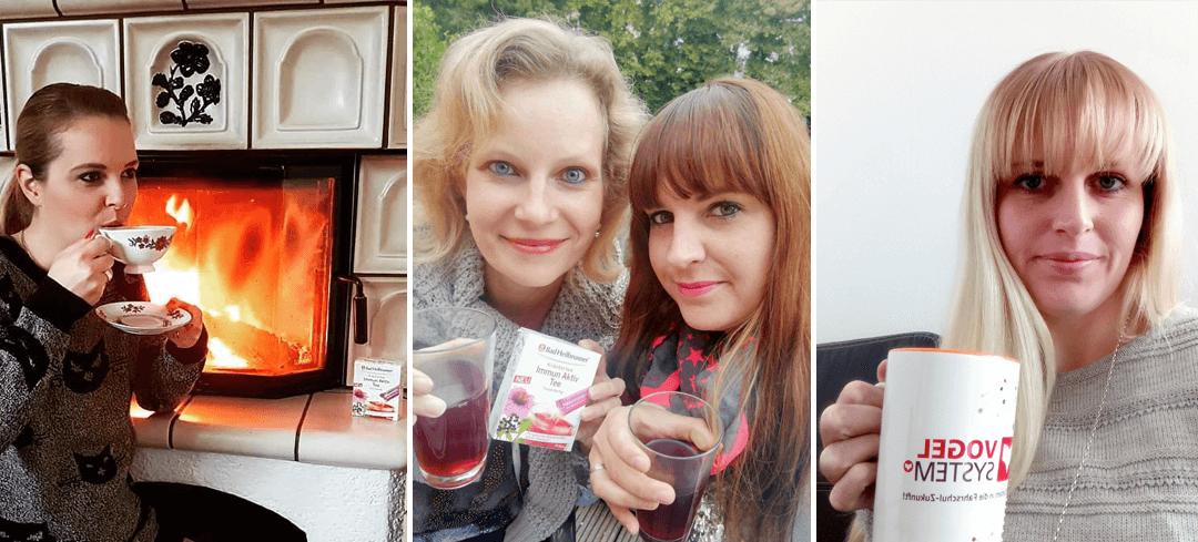 1.000 Markenjury-Mitglieder haben den neuen Bad Heilbrunner<sup>®</sup> Immun Aktiv Tee erhalten, ...