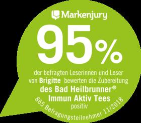 Bad Heilbrunner® Immun Aktiv Tee Siegel