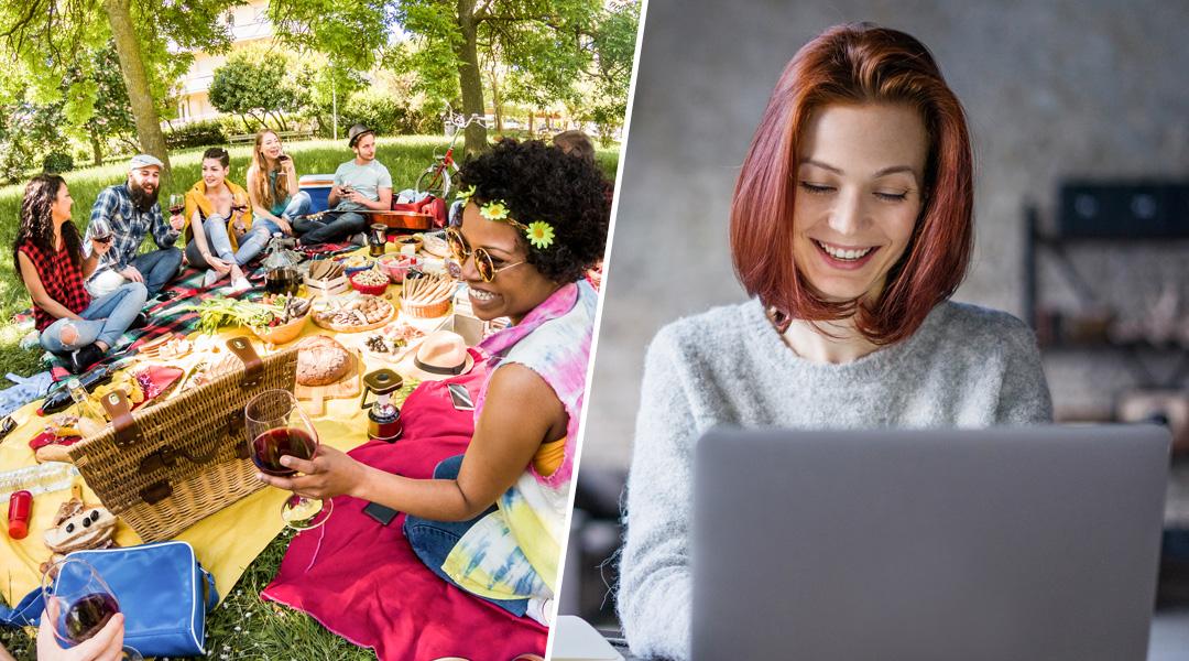 Die 500 Teilnehmer der Aktion probieren Brunch Buttrig-Frisch und teilen ihre Geschmackseindrücke mit Interessierten in ihren sozialen Netzwerken.