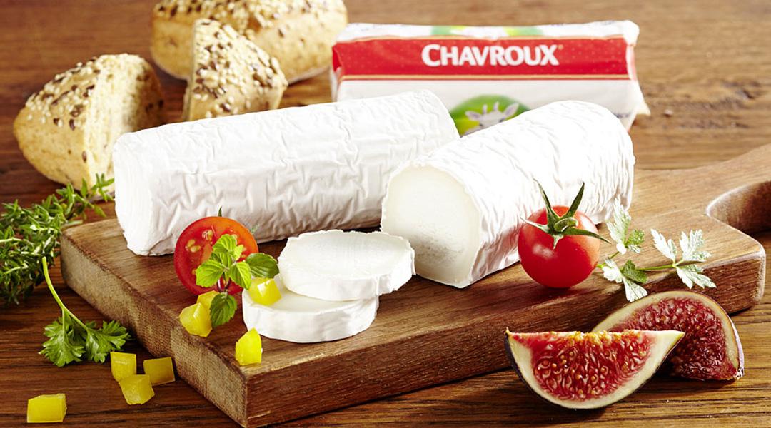 Der zart-milde Chavroux Ziegenweichkäse überzeugt jeden Käseliebhaber: als Brotbelag, pur, zum Überbacken oder Zubereiten einer Vielzahl von Gerichten.