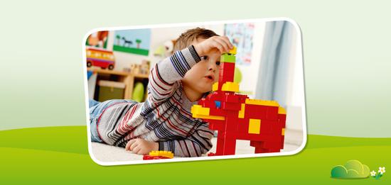 Denn beim Bauen und Spielen mit LEGO DUPLO Spielsets können Kinder ganz nebenbei wichtige Fähigkeiten ausbilden.