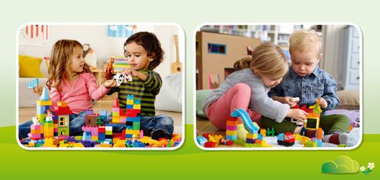 Mit dem Konstruktionsspielzeug entwickeln kleine Baumeister ihre Kreativität und Lösungskompetenz. Das gemeinsame Spielen stärkt außerdem ihre Kommunikationskompetenz sowie Teamfähigkeit und Empathie.