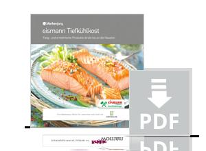 Handbuch zur Markenjury-Aktion mit eismann Tiefkühlkost.