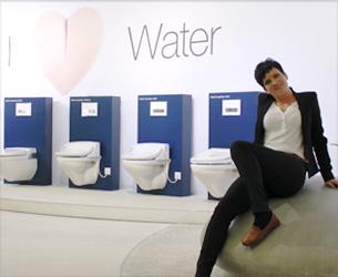 geberit aquaclean das komfort wc mit integrierter duschfunktion im test der leserinnen von. Black Bedroom Furniture Sets. Home Design Ideas