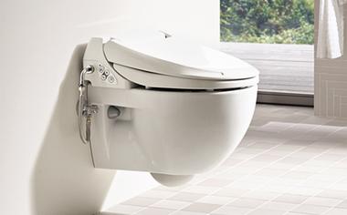 Das Geberit AquaClean 4000 Dusch-WC.