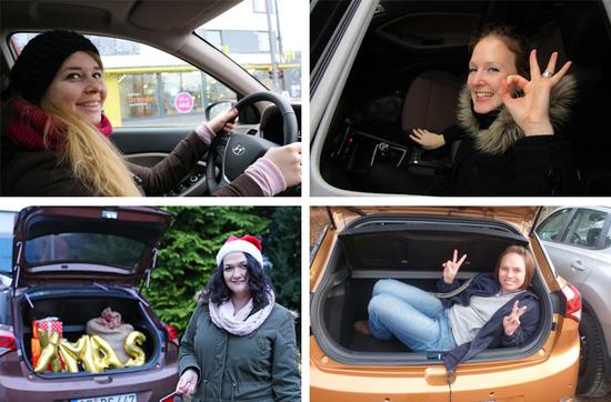 Der neue Hyundai i20 konnte den Probefahrern ein Lächeln ins Gesicht zaubern.
