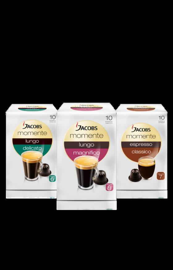 Die Jacobs Espresso- und Lungokapseln