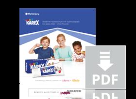Das Handbuch zur Aktion mit Kinder Karex.