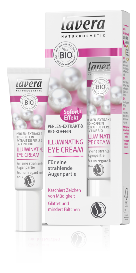 Die lavera Illuminating Eye Cream