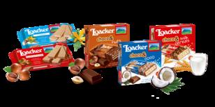 Loacker Waffel- und Schoko-Snacks
