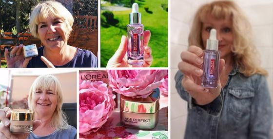 Gemeinsam machen wir die L'Oréal Paris Hautpflege-Produkte bekannt