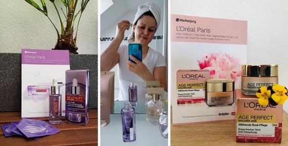 Der erste Eindruck zur L'Oréal Paris Hautpflege