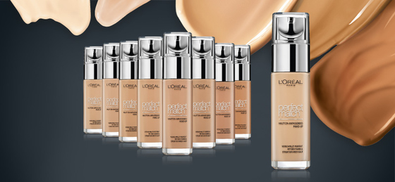 L'Oréal Perfect Match Make-up in neun Nuancen