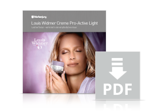 Louis Widmer Creme Pro-Active Light - Informationen.