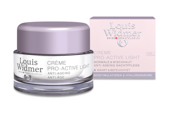Creme Pro-Active Light von Louis Widmer