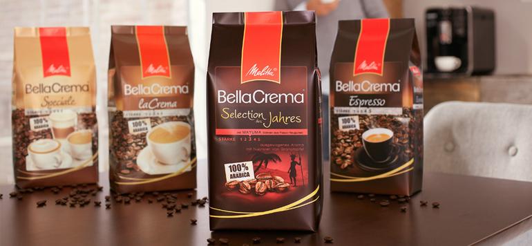 Die Melitta BellaCrema Selection des Jahres 2017 aus ganzen Bohnen ist optimal für die Verwendung im  Vollautomaten geeignet. Ebenso wie die …