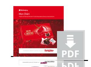 Handbuch zur Markenjury-Aktion mit Mon Chéri.