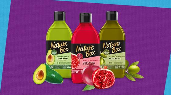 Nature Box Duschgele