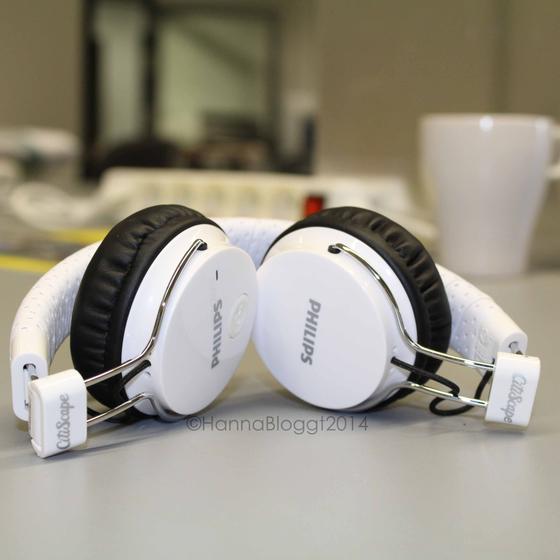 Die Philips Kopfhörer in der Universität.
