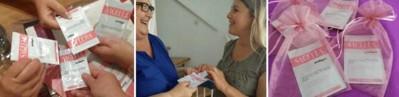 Unsere Bekanntmach-Aktionen zur Sagella poligyn Intimwaschlotion