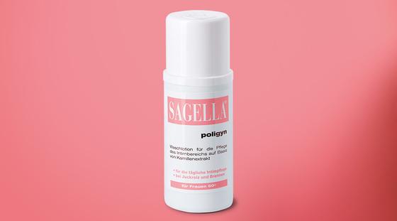 Sagella® poligyn Intimwaschlotion in der Markenjury-Aktion.