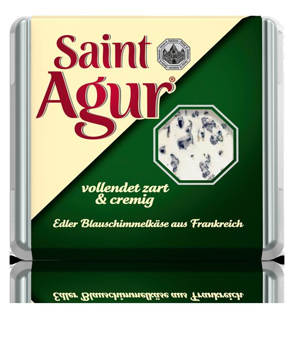 Wichtig: In dieser Aktion testen wir auschließlich Saint Agur in der 125 g Packung.