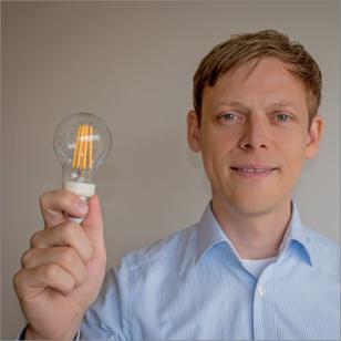 Unser Ansprechpartner Eike bei Philips Lighting.