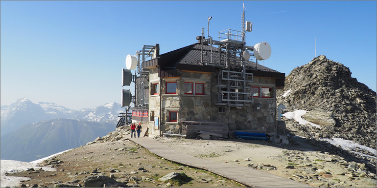 Bergstation Eggishorn, Wallis