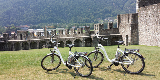 E-Bike Tour nach Bellinzona, Tessin