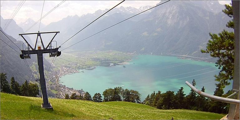 Blick auf den Vierwaldstättersee, Luzern