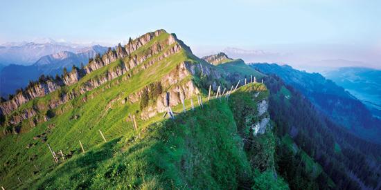 Voralpine Karst- und Moorlandschaft in der UNESCO Biosphäre Entlebuch.