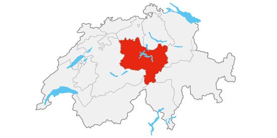 Die Region Luzern-Vierwaldstättersee liegt im Herzen der Zentralschweiz.