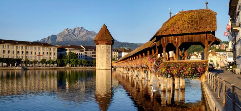 Zentrum der Region Luzern-Vierwaldstättersee ist natürlich die charmante Stadt Luzern.