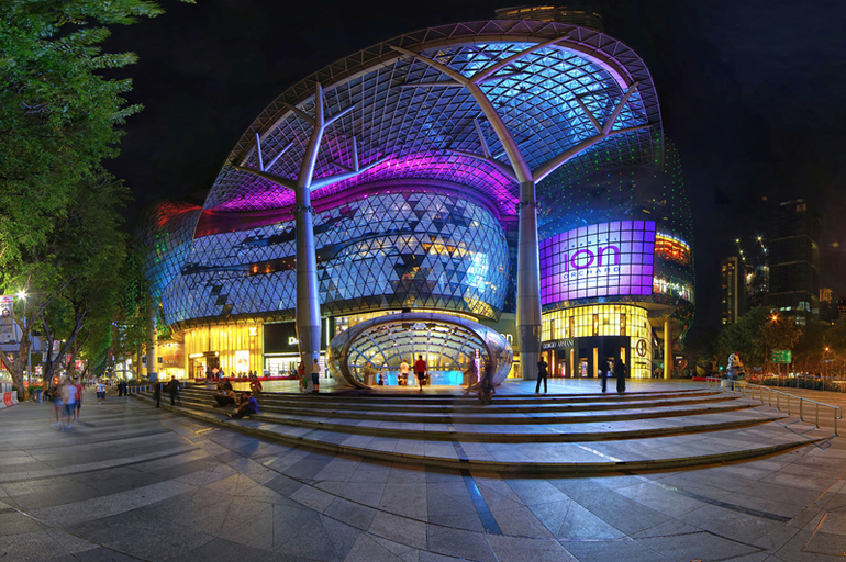 Der Orchard Boulevard - Knotenpunkt für Shopping und Unterhaltung
