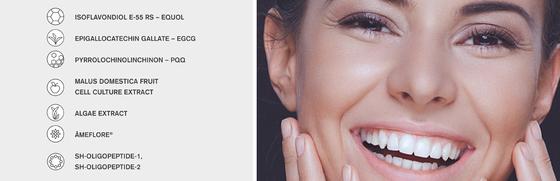 Hauptwirkstoffe der timeblock Kosmetik