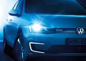 Der neue e-Golf von Volkswagen.