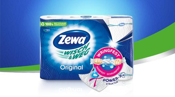 Zewa Wisch&Weg Original in der Markenjury-Aktion